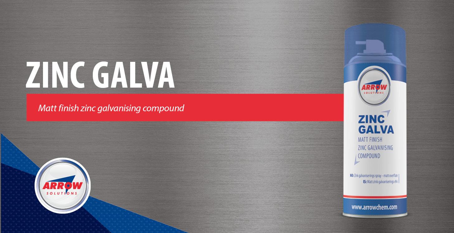 Zinc Galva - Matt finish zinc galvanising compound