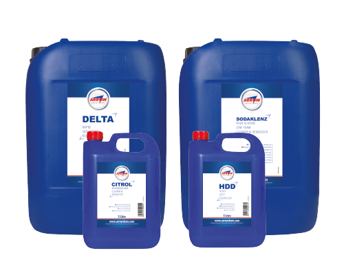 Oil tank cleaning chemicals